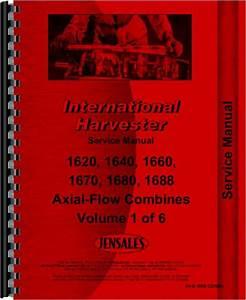 Case 1680 Combine Service Manual