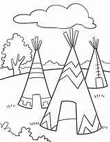 Coloring Native Thanksgiving Worksheet Kindergarten Preschool Worksheets Indians Pilgrims Adult Songs sketch template