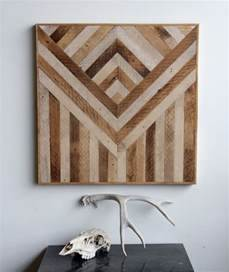 Geometric wood panels to decorate your walls by ariele