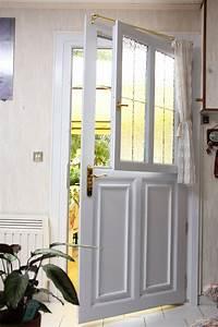 Porte Vitrée Pvc : porte d 39 entr e vitr e en pvc mod le corot la v ritable ~ Melissatoandfro.com Idées de Décoration