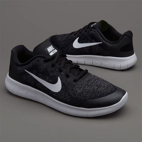 nike kids  rn  running black boys shoes