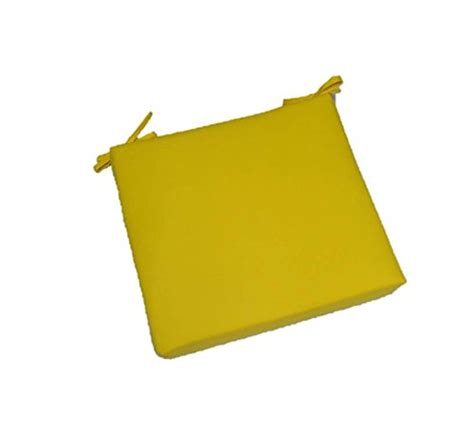 indoor outdoor solid yellow square universal 2 quot thick