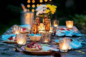 Candle Light Dinner Zuhause : 16 romantic candle light dinner ideas that will impress ~ Bigdaddyawards.com Haus und Dekorationen