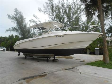 Cuddy Cabin Power Boats by 2007 Boston Whaler 320 Outrage Cuddy Cabin Power Boat For