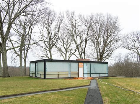 Glass House Johnson by Philip Johnson Glass House Ceiling Height Www