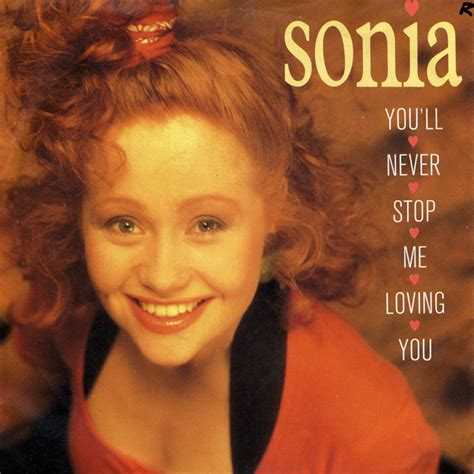Sonia - You'll Never Stop Me Loving You (1989, Vinyl ...