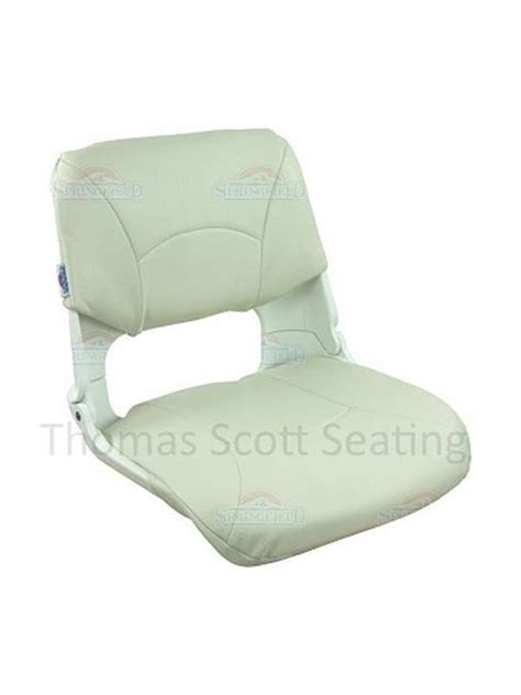 White Folding Boat Seat by Skipper Boat Seat Folding Type Special Offer