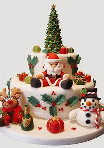 104 best Christmas cake decoration images on Pinterest ...