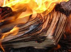 Burning the past quotyou and mequot for Burning documents