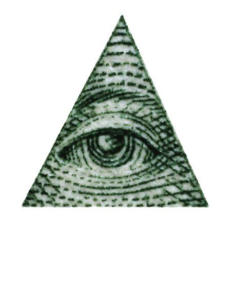 Illuminati Pyramid Eye Quot Dollar Bill Illuminati Pyramid Eye Graphic Quot Posters By