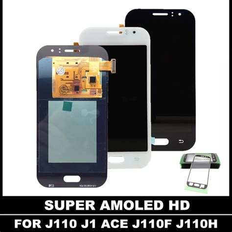 digitizer lcd replacement for samsung galaxy j1 ace j110 j110f amoled display touch screen
