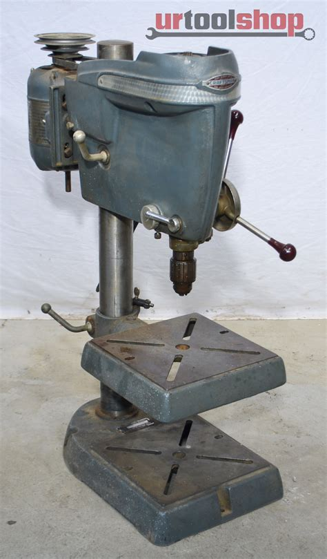 Vintage Craftsman Bench Drill Press Model 10323131 390959
