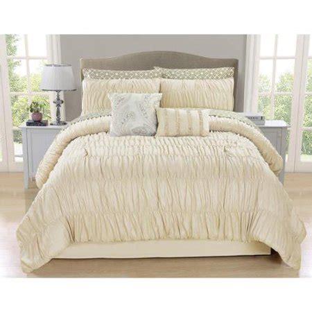 ivory comforter set king greyson ivory ruched 10 comforter set king walmart