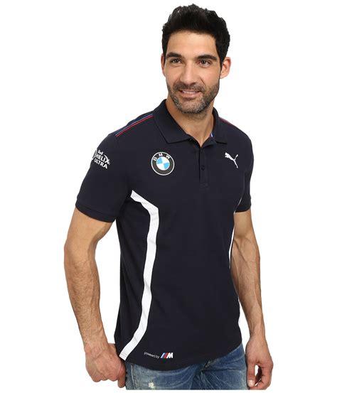 Puma Bmw Team Polo in Blue for Men   Lyst