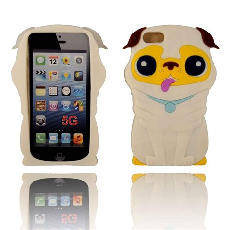 3d iphone 5s cases 3d puppy silicone iphone 5 white