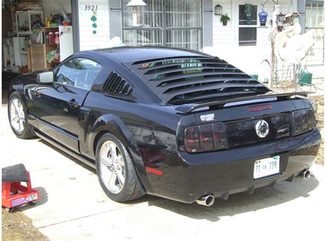 2005 Ford Mustang Window Louvers