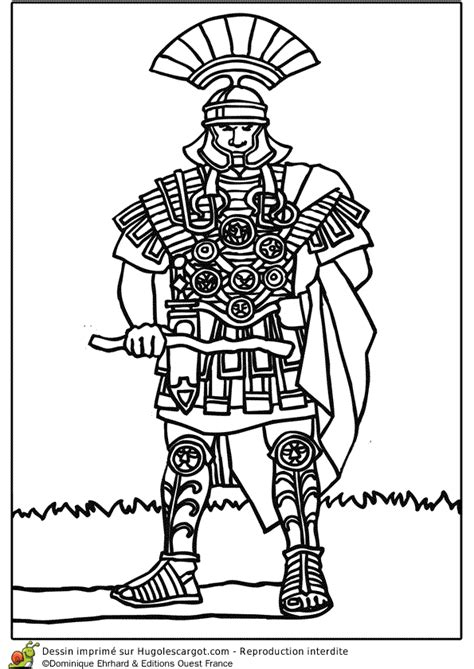 jeux gratuit de cuisine en francais coloriage centurion en armure