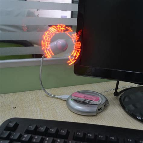 aliexpress buy 2014 new diy led mini usb fan
