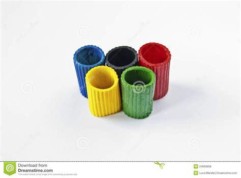 Symbole Olympique De Cinq Cercles Photo stock - Image du ...