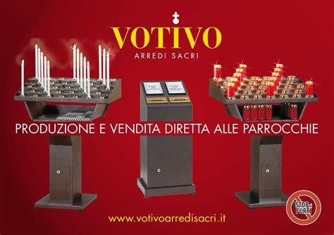 Candelieri Votivi by Candelieri Votivi Elettrici Con Cassaforte Blindata Stop
