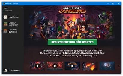Minecraft Dungeons Launcher Gamepedia Wiki Tab