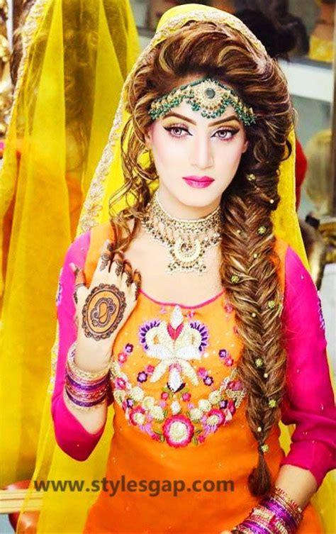 mayun bridals makeup  dresses designs