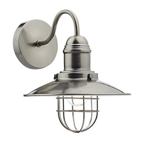 dar lighting terrace 1 light vintage retro wall bracket light in antique chrome ter0761 arrow