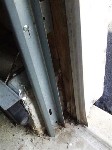garage door trimjamb structural doityourselfcom community forums