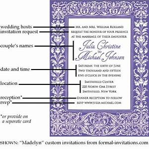 wedding invitation wording and etiquette formal With examples of formal wedding invitations wording