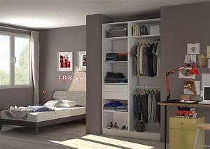 Chambre Dressing : placard dressing le rangement chic pratique centimetre ~ Voncanada.com Idées de Décoration