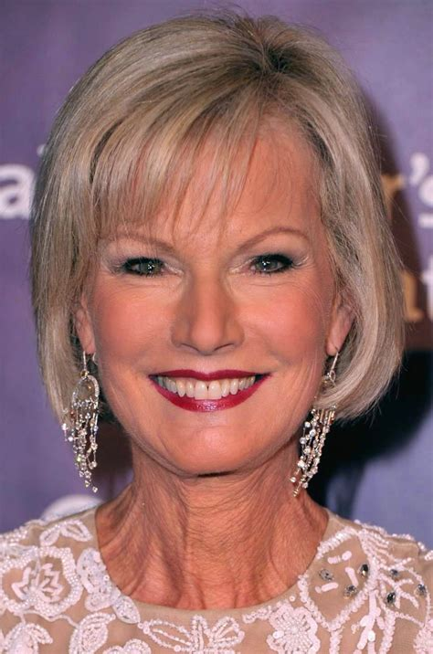 TOP 10 short haircuts for older women with fine hair