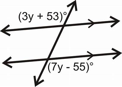 Angles Alternate Exterior Parallel Lines Transversal Example