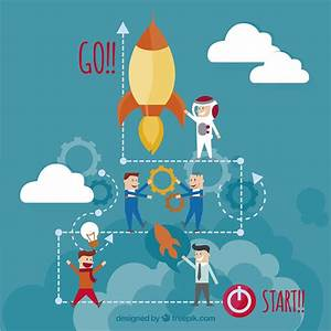 Startup teamwork Vector | Free Download