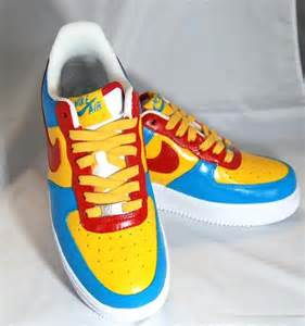 Air Force Ones Superman Custom