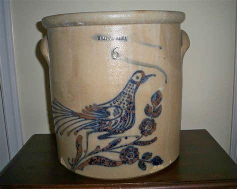 antique stoneware cobalt blue 2 gallon jug crock ebay 33 best antique crocks jugs images on