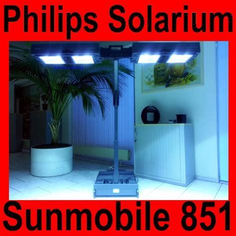 lade solarium solarium philips sunmobile hb 851 homesun sonnenbank solarien