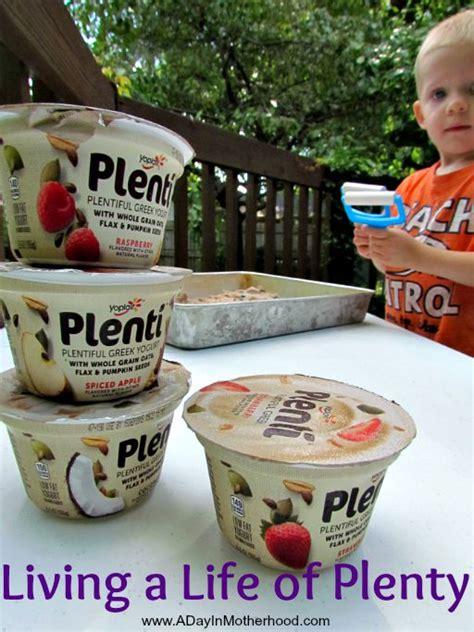 Living a Plentiful Life + WIN 5 Yoplait Plenti Coupons