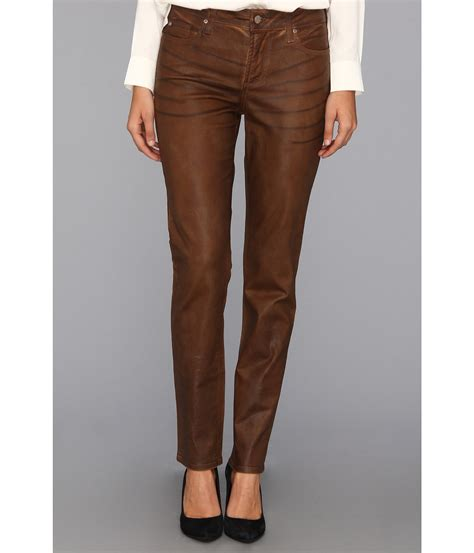 brown skinny jeans  women bbg clothing