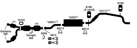 diagram for exhaust for 2001 ford explorer sport autos post