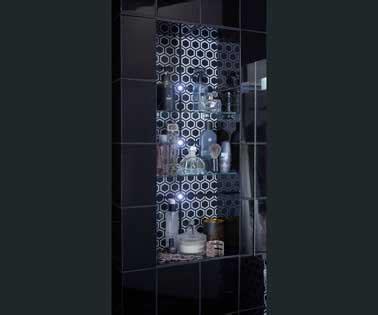 etagere salle de bain leroy merlin etag 232 re murale dans niche salle de bains leroy merlin