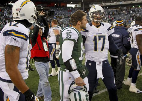 San Diego Chargers V New York