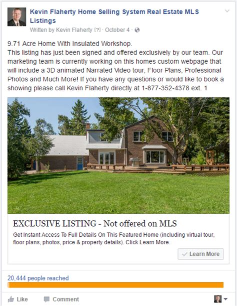 Leverage Your Listings With Facebook Lead Ads Real