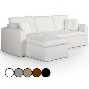 canapé menzzo canape d angle convertible gris et blanc comparer 392 offres