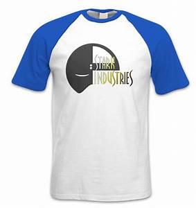 Stark Industries Mask Short Sleeved Baseball T Shirt