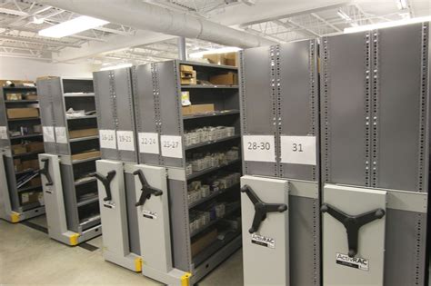 Shelving And Storage Systems by Mobile Pallet Racking Donnegan Systems Inc