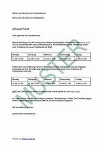 Urlaub Berechnen Teilzeit Stunden : antrag auf teilzeit beim arbeitgeber stellen arbeitsrecht 2018 ~ Themetempest.com Abrechnung