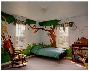 How to make your kid39s room jungle themed kids and baby for Jungle theme room ideas