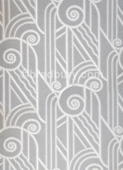 bradbury art deco fabric  upholstery  drapery volute