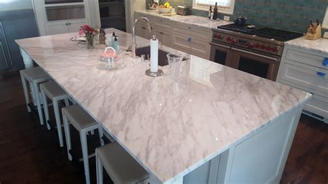 add white marble countertops to your kitchen