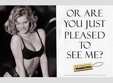 Wonderbra lingerie celebrates 20 years since THAT advert